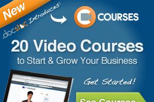 Docstoc Online Ad
